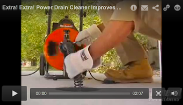 Extra! Extra! Power Drain Cleaner Improves Performance