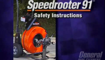 General Pipe Cleaners' Speedrooter 92 Instructional Video