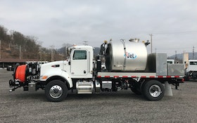 GapVax Applies Combination Truck  Technology to High-Performance Jetter Truck