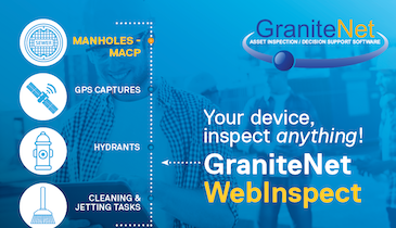 Easily Collect Data During Inspections with GraniteNet WebInspect