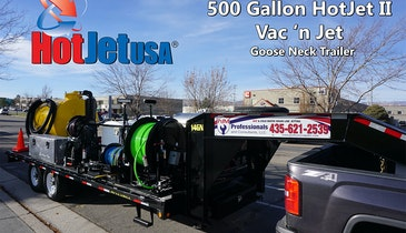Industrial Pipe Cleaning Professionals Looking to Custom Jetter Hybrid Units