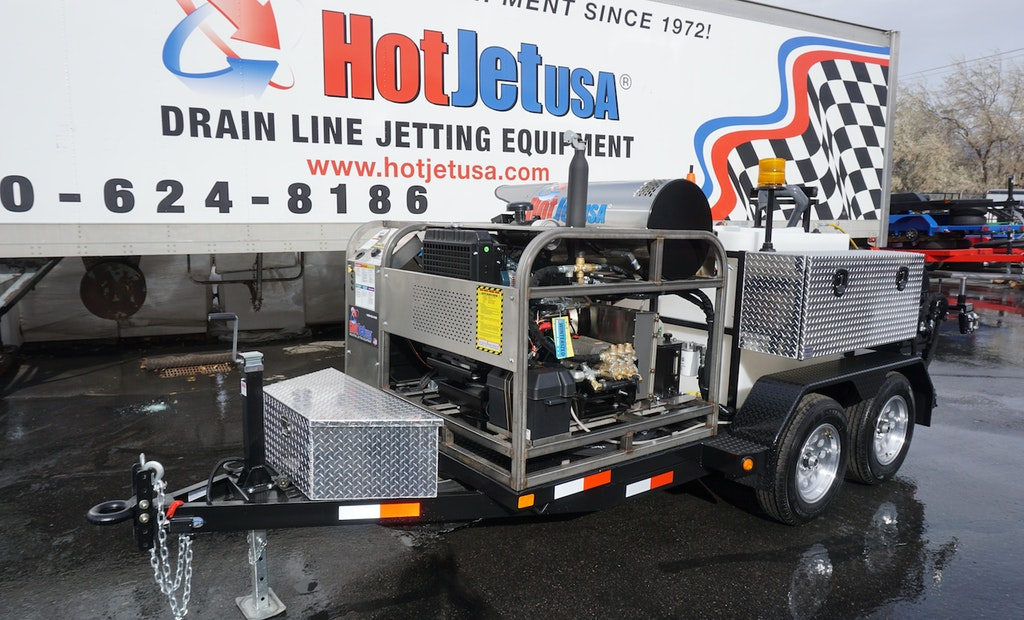 Diesel Trailer Jetter Offers Affordable High-Output Alternative