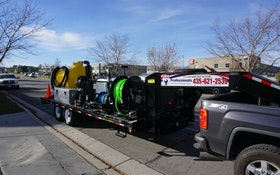 Custom HotJet II Vac 'n Jet Combo Unit Increases Business for Local Sewer Professional