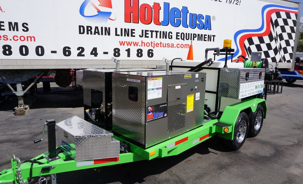 Cold-Water 1840 Jetters Answer the Call From Industrial Professionals