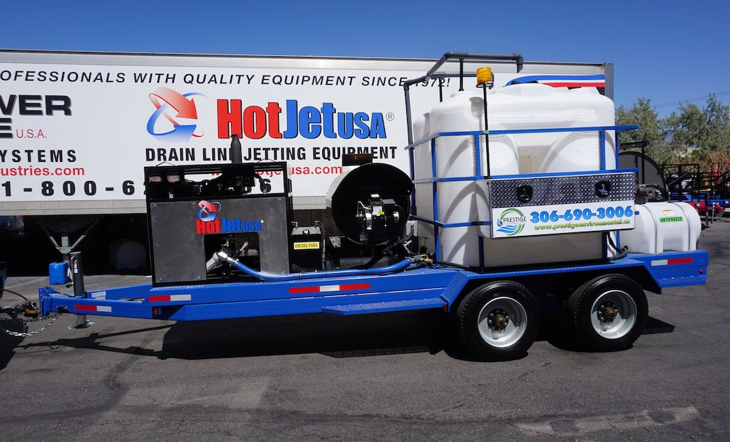 Canada Contractor Seeks Out Custom Hot-Water Jetter