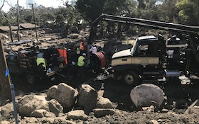 Contractor Finishes Mudslide Cleanup Work in California