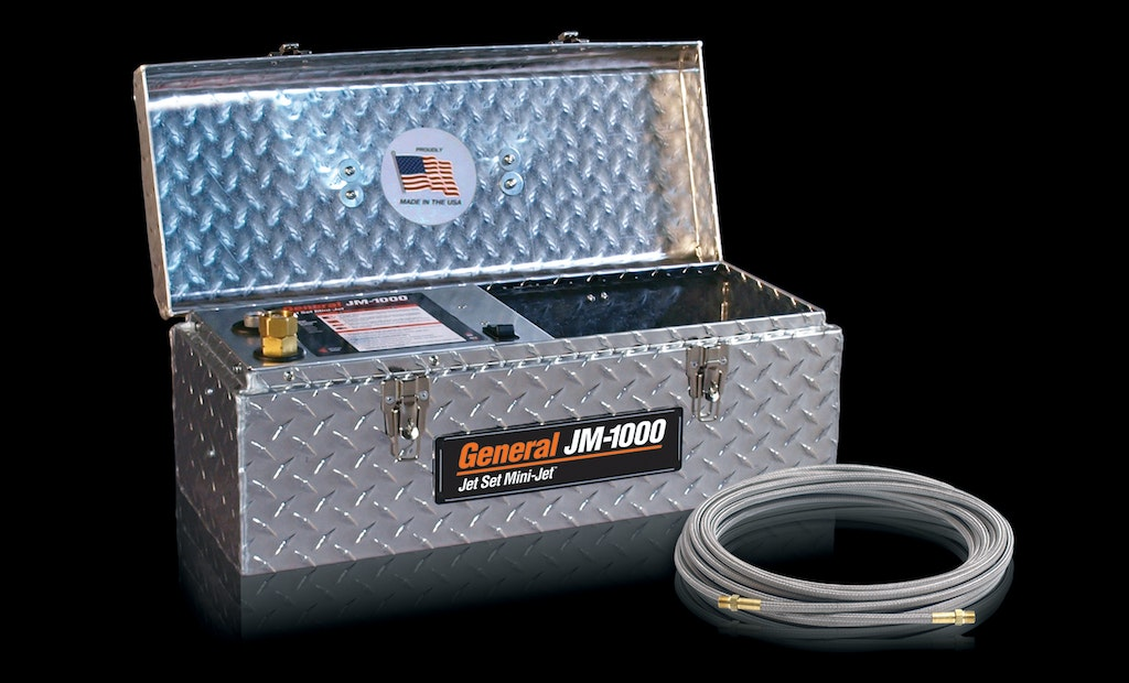 Stainless Steel Braid Hose Boosts Jetter Cleaning Power