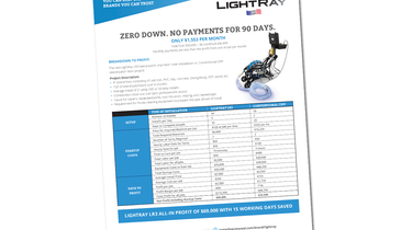 LightRay UV LED Lateral Patch Installation Vs. Traditional Patch Repair System