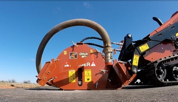 Microtrencher Attachment Cuts Costs, Improves ROI on Fiber Job Sites