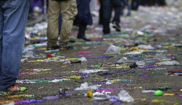 New Orleans Works To Keep Mardi Gras Debris Out of Sewer System