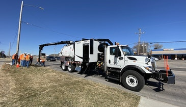 Growing Number of Contractors Using Dedicated Hydroexcavators for Municipal Applications