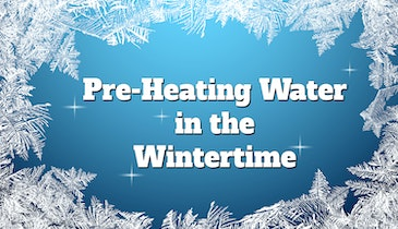 Quick Jetter Service Tips: Preheating Water in the Winter