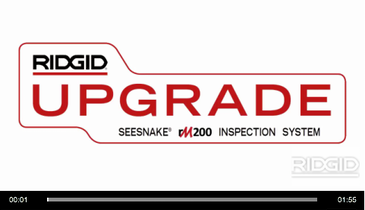 RIDGID SeeSnake MAX rM200 Camera System for Easy, Versatile Inspections