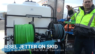 Load 'n Go Jetter Series Provides Custom-Engineered, Skid-Mounted Options