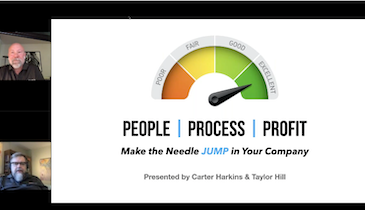 BUSINESS: People, Process, Profit – Make the Needle Jump in Your Company