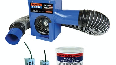 Superior 5E Electric Smoker Finds Faults, Odors, Leaks and Inflow