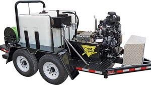 Cam Spray Offers Diesel-Powered, Trailer-Mounted Jetting System