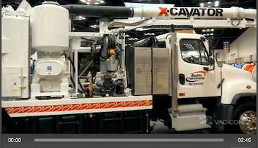 Vac-Con - X-Cavator Vacuum Excavator - 2013 Pumper & Cleaner Expo