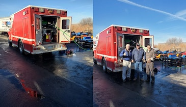 HotJet USA Retrofits Vintage Ambulance with a Cold Water XtremeFlow II
