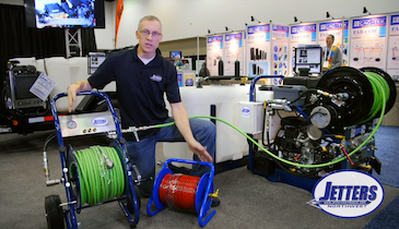 Deluxe Hose Reels for Easy Jetting