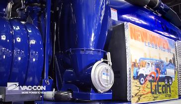 Vac-Con's Efficient Aeroboost Runs at Lower Speed With Plenty of Vacuum