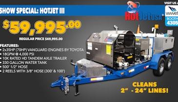 WWETT Show Special: HOTJET III Business Package
