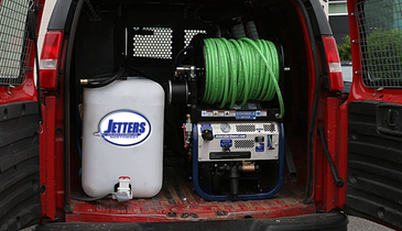 Van-Mounted Jetter Saves Valuable Time on the Job Site