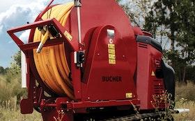 Vacuum Trucks/Pumps/Accessories - Bucher Municipal easement reel