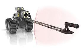 Dedicated laser accessory captures, analyzes pipeline data