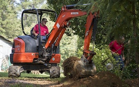 Mini-Excavators Have Big Impact On Productivity, Profitability