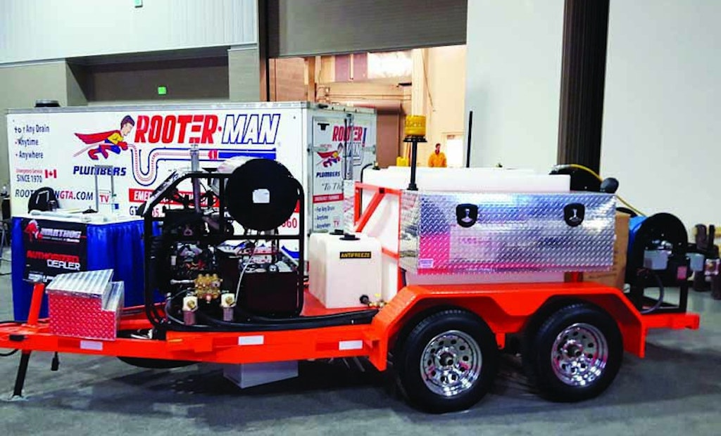 Upgrading a Favorite Jetter