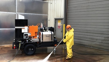 Hot-Water Jet Washers Get the Job Done