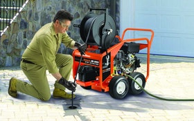 Jetter Makes Clearing Clogs Easy