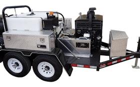Portable Truck/Trailer Jetters - Cam Spray TT4025HZ-350