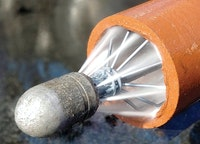 Take Pipe Material Into Consideration on Waterjetting Jobs