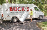 Great Service Runs in the Family at Buck's Plumbing & Sewer Service