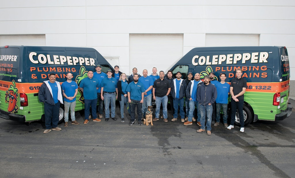 Building a Bold Brand Gets Colepepper Plumbing & Drains Noticed