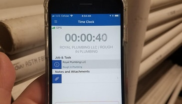 Cellphone App Makes Tracking Employee Work Hours Easier