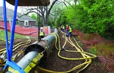 Pipe Bursting Helps Texas Contractor Upsize Sewer Without Digging Up Park