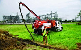 Ditch Witch truck vacuum excavator