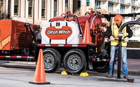 Hydroexcavation - Ditch Witch HX30