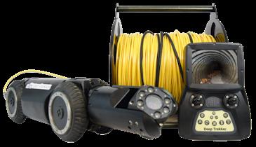 Deep Trekker Introduces New Portable Pipe Crawler