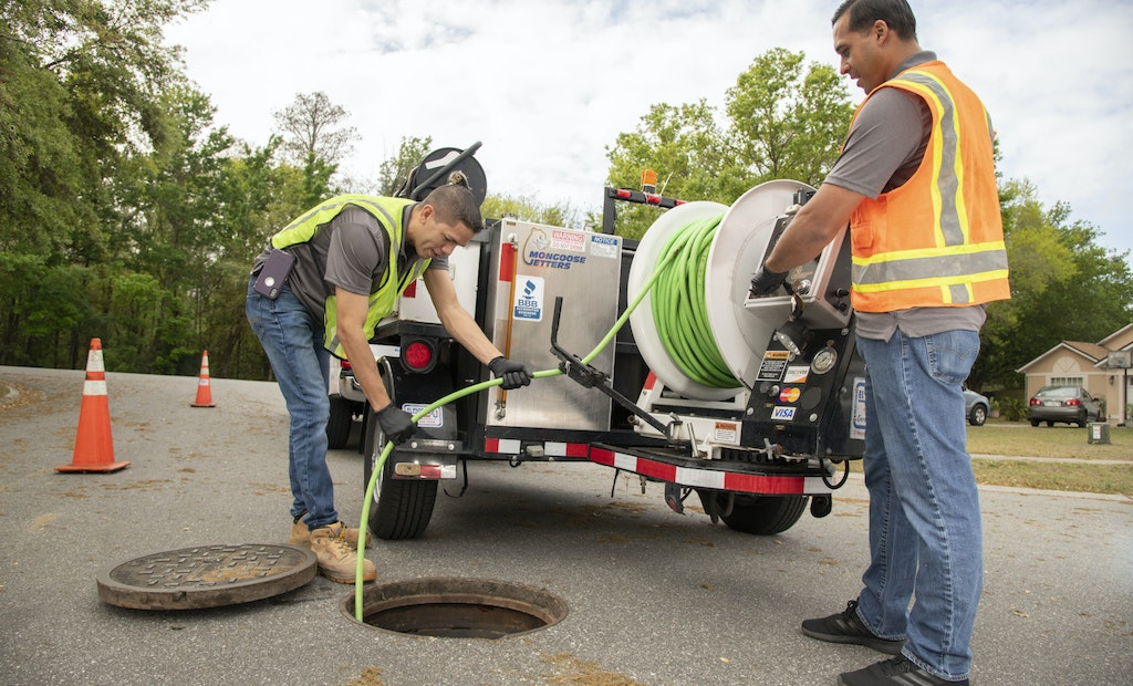 Trailer Jetter Bolsters Contractor's Drain Cleaning Profits
