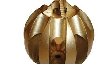 Spherical Cutting Tool  Negotiates Tight Turns