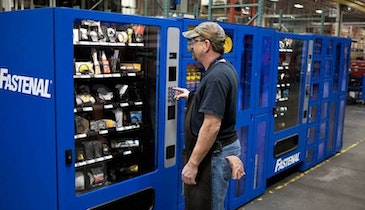 Vending Machines Keep Technicians Safe and Supplied