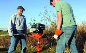 General Equipment Company earth auger