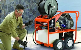 Portable Truck/Trailer Jetters - Water Jet Drain Cleaner