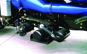 Guzzler vane pump pressure off-load option