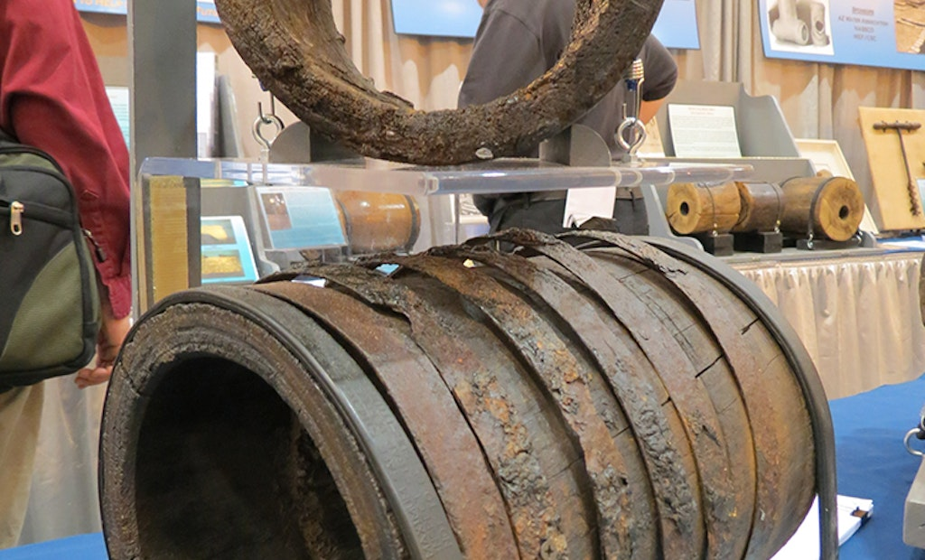 Historic Wooden Pipe Display Returning to WWETT Show