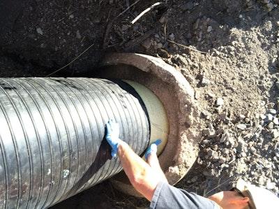 Culvert Repair with CIPP